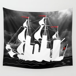 Slave Ship Wall Tapestry