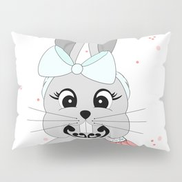 Miss Rapeti (peachy perfect) Pillow Sham