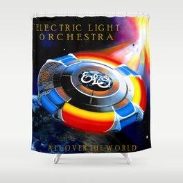 ELO ALBUM COVER Shower Curtain