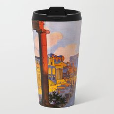 Vintage Rome Italy Travel Metal Travel Mug