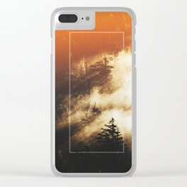The Woods Have Secrets Clear iPhone Case