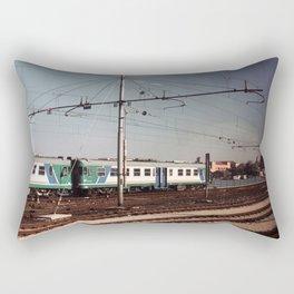 Padova Train Ride Rectangular Pillow