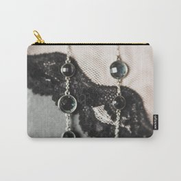 lace and jewels Carry-All Pouch