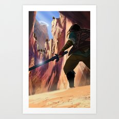 Death Mountain Art Print