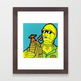C-Tiki-O Framed Art Print