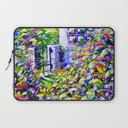 Country Garden Retreat Laptop Sleeve