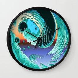 Surfrealism 59 Wall Clock