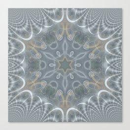 Star mandala Canvas Print