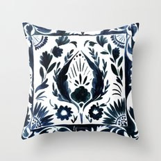 Nadia Flower Throw Pillow