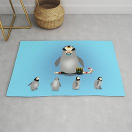 Penquin Chick Cosplay:  Holiday Decoration Crew Rug