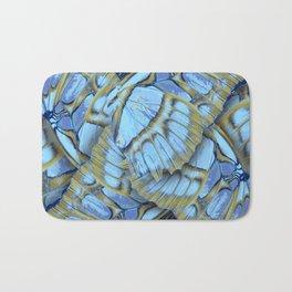 Blue Wings Bath Mat