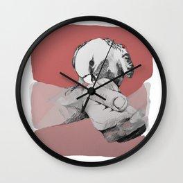 Bird Bite Wall Clock