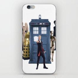 Doctor Who & Enemies iPhone Skin