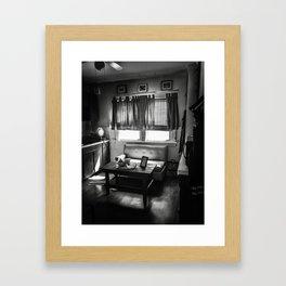 Kitchen Couch Framed Art Print