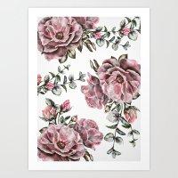 Summer Roses II Art Print