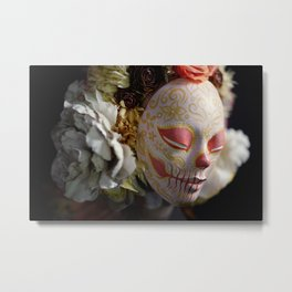 Morning Harvest Muertita Detail Metal Print