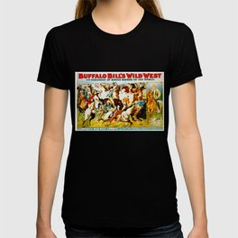 Vintage Wild West Show Poster T-shirt