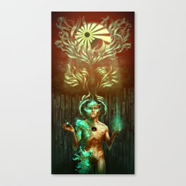 Becoming Seraphim Canvas Print
