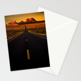 The Long Road Home (Fine Art Landscape Photography) Stationery Cards