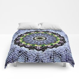 Fossils and Leaves Comforters