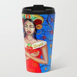 Divine mother. Metal Travel Mug