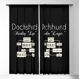 Barking is the Option Blackout Curtain
