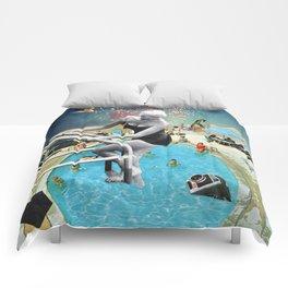 Happy Hippy Hippo Comforters