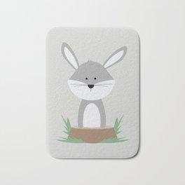 Rabbit on Stump Bath Mat