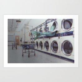 Lavanderie Art Print