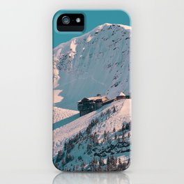 Mt._Alyeska Ski_Resort - Alaska iPhone Case