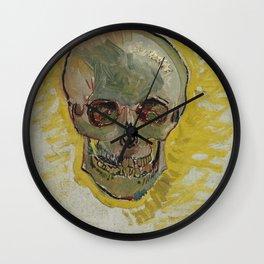Vincent Van Gogh - Skull, 1887 Wall Clock