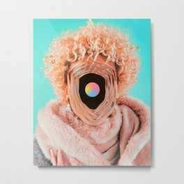 The real face Metal Print