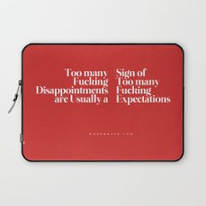 Disappointments Laptop Sleeve