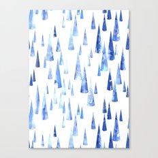 Blue Water Love #2 Canvas Print