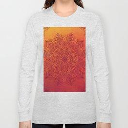 Sun Mandala Long Sleeve T-shirt