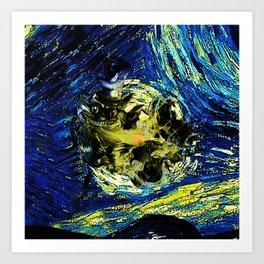 cheshire starry night   Art Print