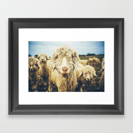 Curly I Framed Art Print