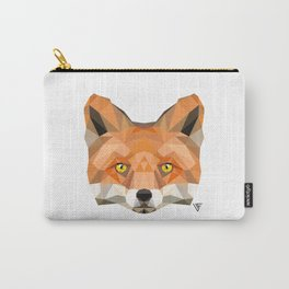 Fox Face Carry-All Pouch