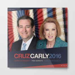 Cruz Carly 2016 Metal Print