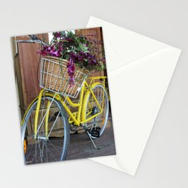 Vintage Bike Flowers Stationery Cards