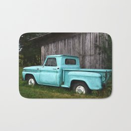 To Be Country - Vintage Truck Art Bath Mat
