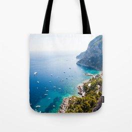 Capri, bay of Naples, Italy Tote Bag