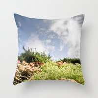 fairy tale Throw Pillows featuring Fairy Tale by Tom Radenz