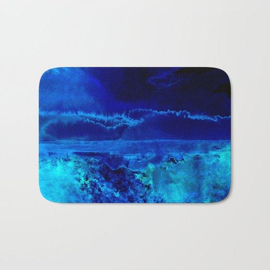 Icy Storm Bath Mat
