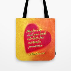 Direct Your Hearts Tote Bag