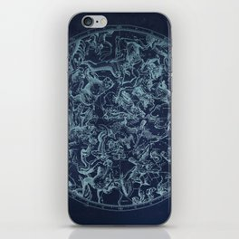 Vintage Constellation & Astrological Signs iPhone Skin