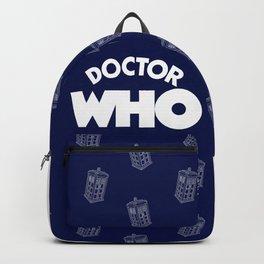 Tardis Pattern Backpack