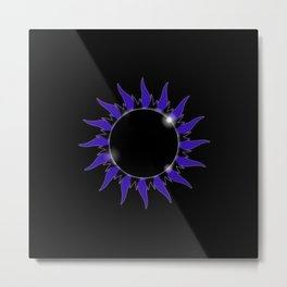AP Black Metal Print
