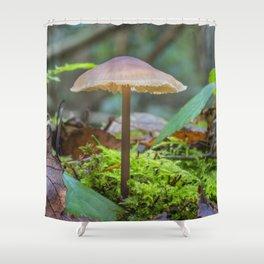 Slender Fungi Shower Curtain
