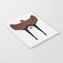 Dark Cardinal Notebook